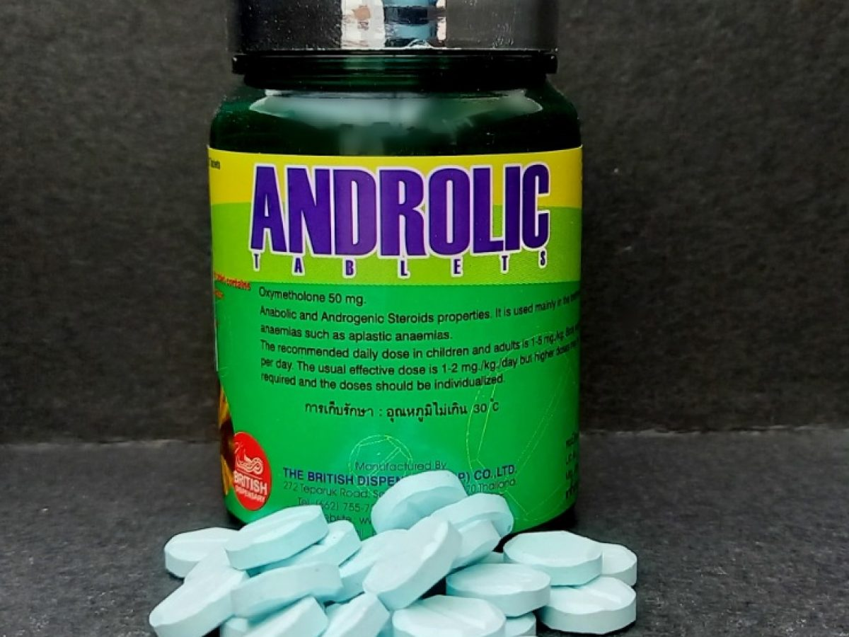 androlic tablets 50 mg 100 tablets british dispensary anabol